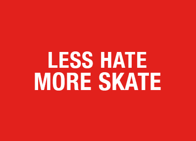 Less Hate More Skate